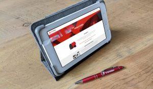 conception de site web et articles promotionnels
