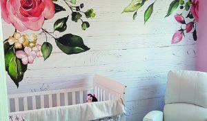 murale personnalisée chambre d'enfant
