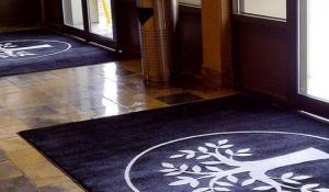 tapis d'entrée imprimé